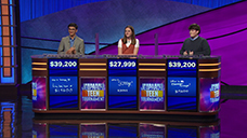 [Jeopardy! 2019 Teen Tournament - Image of the final results]